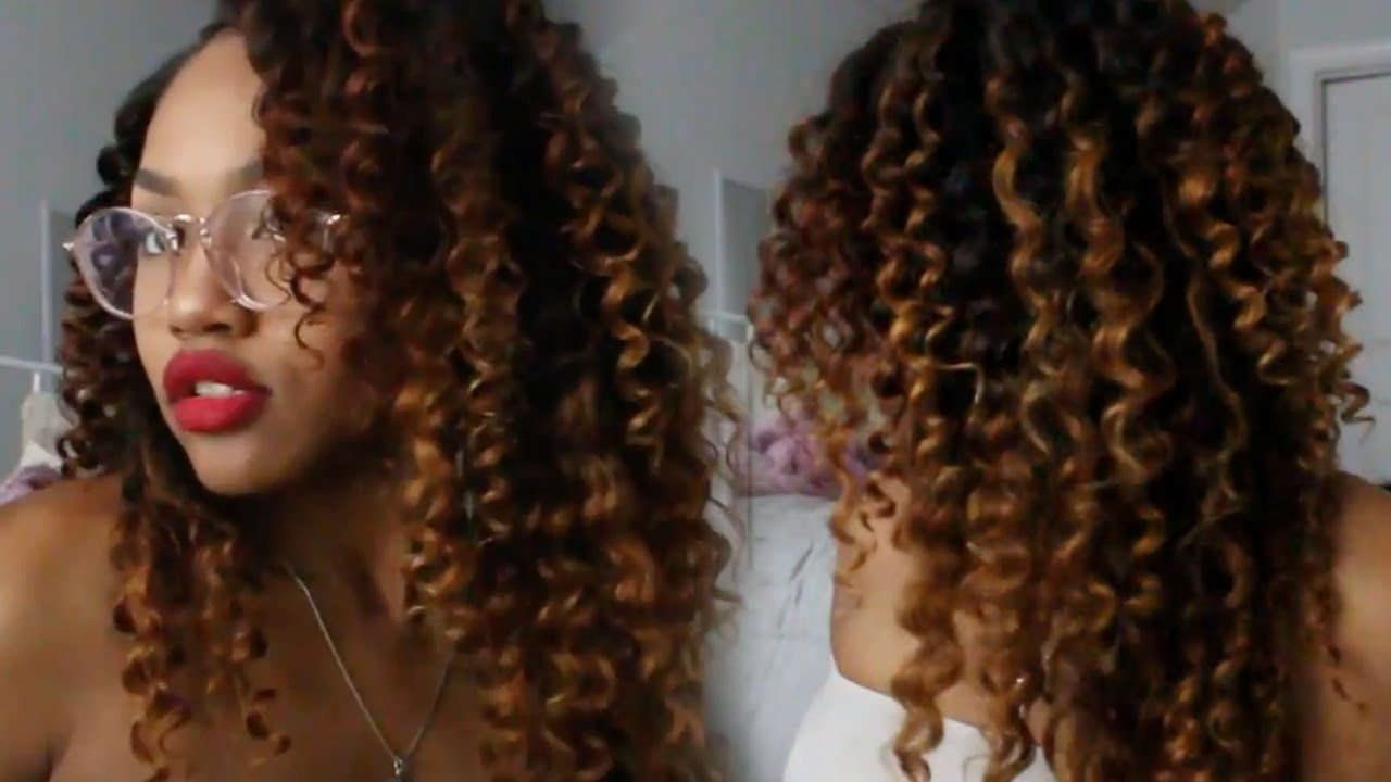 Ombre Malaysian Curly Ft Bele Virgin Hair Youtube