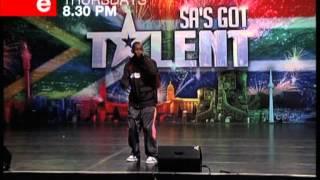 SA's Got Talent   Njabulo   Bulletman