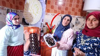طريقة عمل العسل بالشهد مع امي و فاطمة