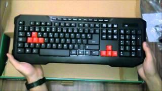 Siber Medya - Everest KM 9670 Oyuncu Klavyesi ve Mouse Kutu Açılımı