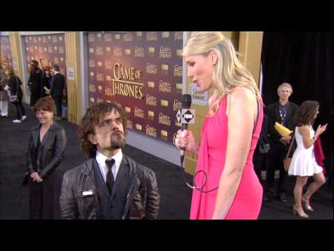 #GoTPremiereSF Live Stream: Peter Dinklage (HBO)