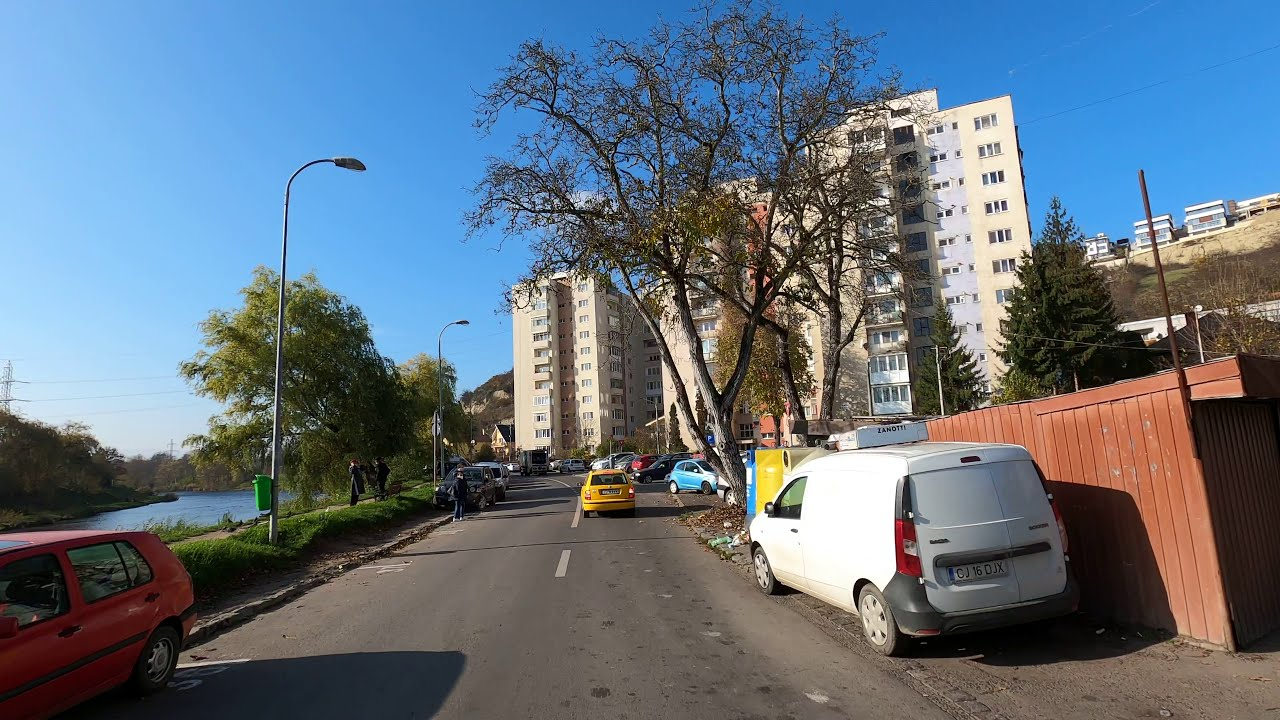 Filmare 4K, Cluj-Napoca, Driving Cluj-Napoca.