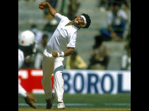 ### Rare Gold### World Record : Best Bowling on Debut -16-136 N Hirwani (India) v WIN ,Madras, 1988