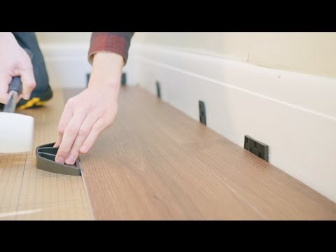 How To Fit Luxury Vinyl Click Flooring