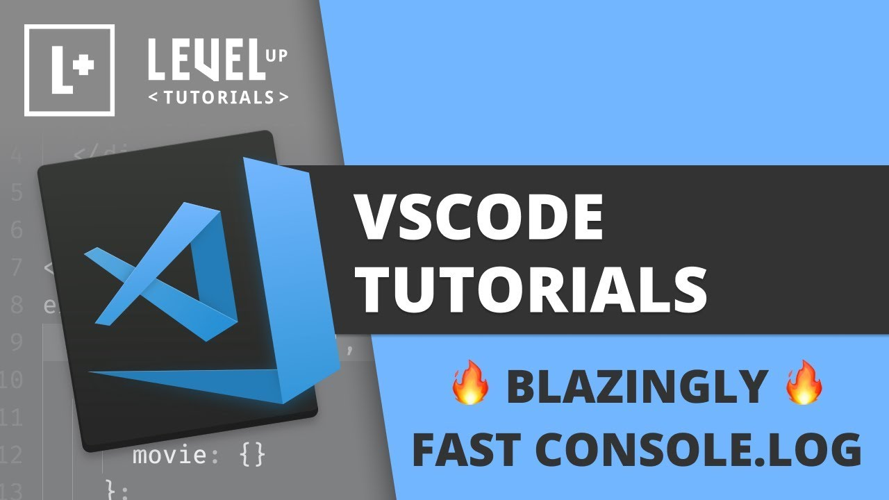 🔥 Blazingly Fast Console.log in VSCode 🔥