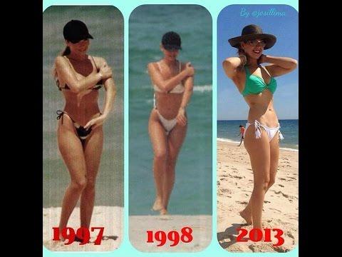 fotos Thalia en Instagram en Bikini, traje de baño