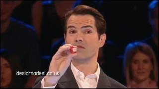 Jimmy Carr faces The Banker on Celebrity Deal or No Deal