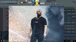 Drake - Sacrifices (feat. 2 Chainz & Young Thug) FL Studio FLP Instrumental Pt 1