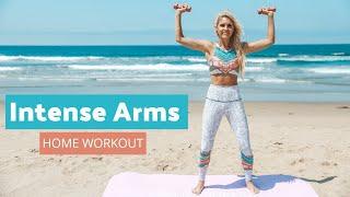 Intense Arm Workout - LOSE UPPER BODY FAT | Rebecca Louise