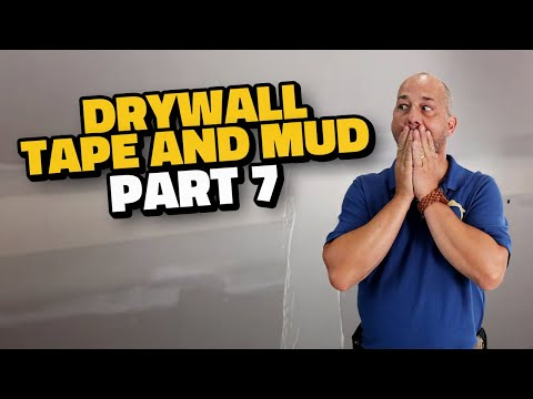 Complete Drywall Installation Guide Part 7 How To Tape Drywall And First Coat Of Mud