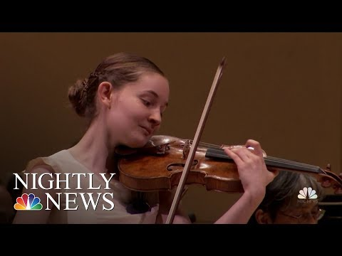 14-Year-Old Composer Stuns At Sold Out Show At Carnegie Hall | NBC Nightly News