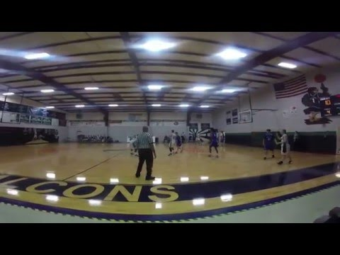Furtah prep basketball  vs Johnson Ferry Christian Academy.- Part 2