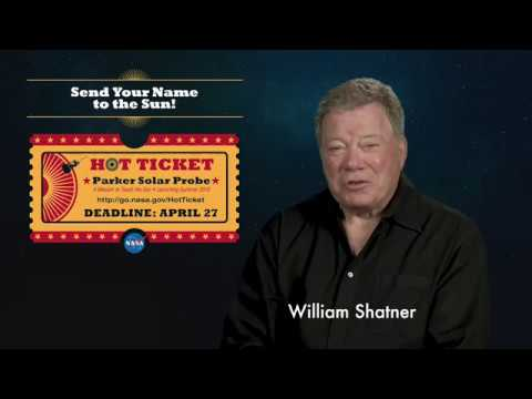'Captain Kirk' Wants You To Launch Your Name to the Sun