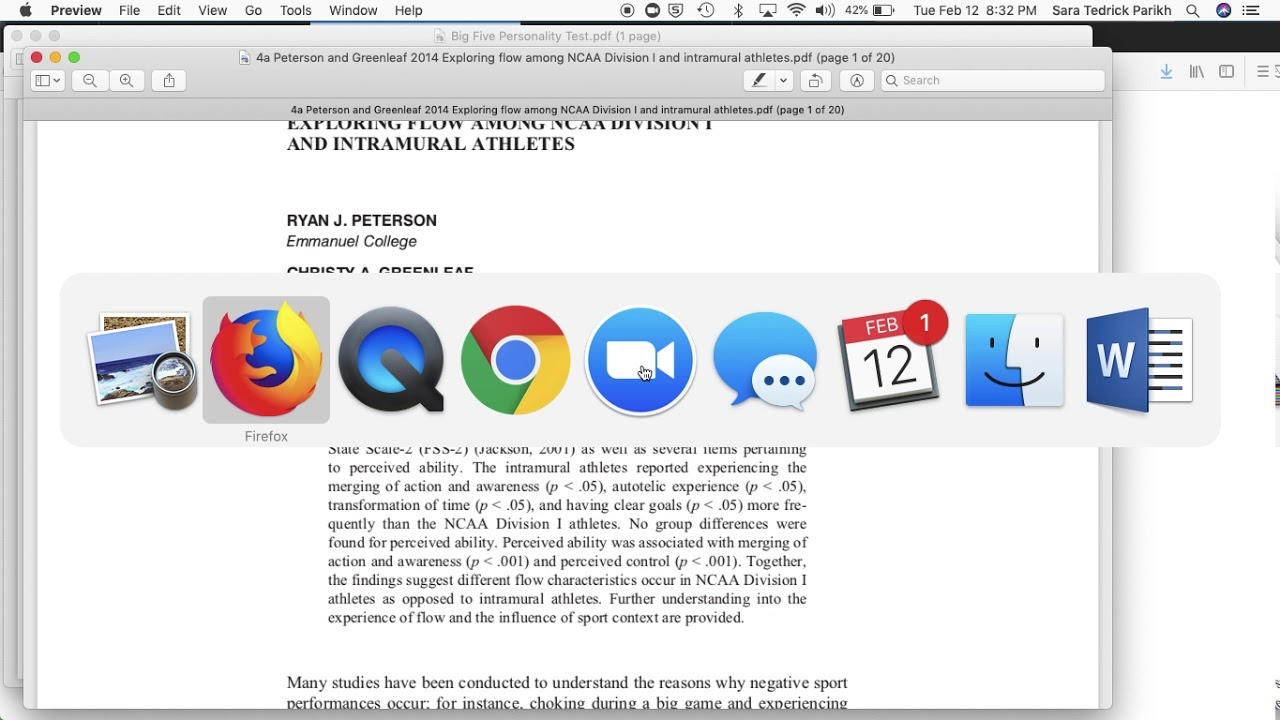 big five personality test pdf
