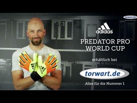 adidas Predator Pro WM 2018 | Torwarthandschuhe Produktvideo