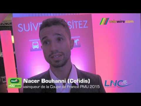 Interview Nacer Bouhanni, vainqueur de la Coupe de France PMU 2015