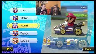 Mario Kart y más juegos de Nintendo con mi novia ❤