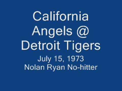 Ernie Harwell calls Nolan Ryan's 1973 no-hitter