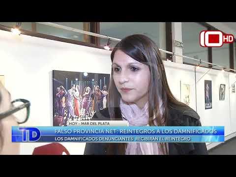 Falso Provincia NET: Reintegros a los damnificados
