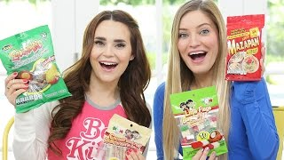 TRYING MEXICAN CANDY /w iJustine!