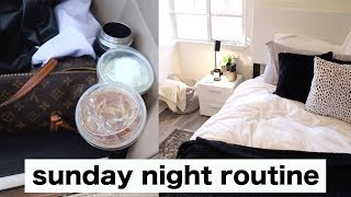SUNDAY NIGHT ROUTINE  cleaning planning reset