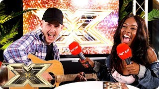 A RAPPER WITH A GUITAR ON THE X FACTOR!?! | Just Eat's Xtra Bites 2018 | Episode 2