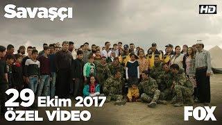 Savaşçı ekibinden 29 Ekim Cumhuriyet Bayramı kutlaması!