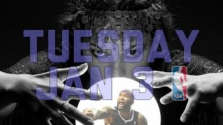NBA Daily Show: Jan. 3 - The Starters