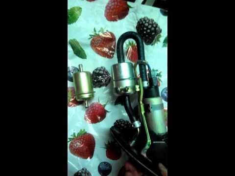 Фильтр топливный аналог для всех инжекторных мото Honda (Sakura fs1004 )