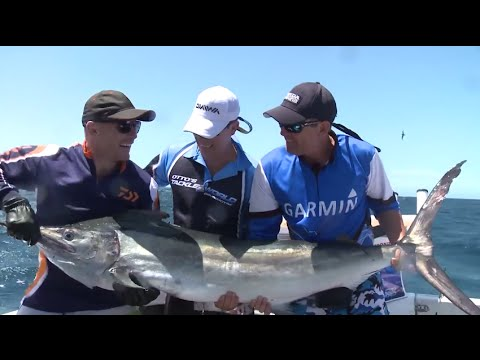 Port Stephens Inshore Marlin with Louis from Otto's, Dave Butfield & Beau Scott