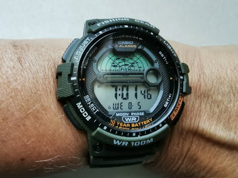 The Casio 3485 Fishing Watch (Does It Really Work)
