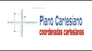 PLANO CARTESIANO/ coordenadas cartesianas