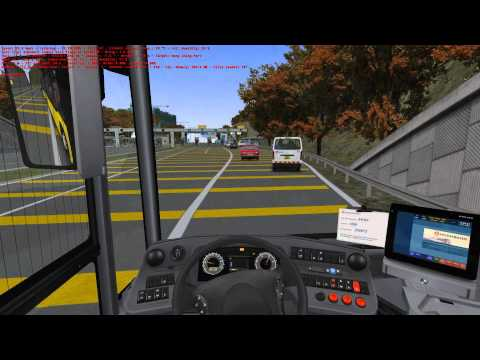 OMSI Joyride #62 - Great Grundorf 2 - Route A4 Airport - Hong Shing Port - OMSI 2 The Bus Simulator