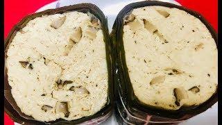 Chả lụa nấm hương chay (Vietnamese vegan mushroom ham) - - Bếp Nhà Nội