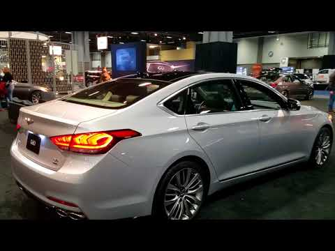 2019 Hyundai Genesis G80 at 2018 Washington auto show