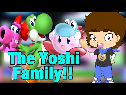 Kirby Is The Child Of Yoshi and Birdo??! - ConnerTheWaffle