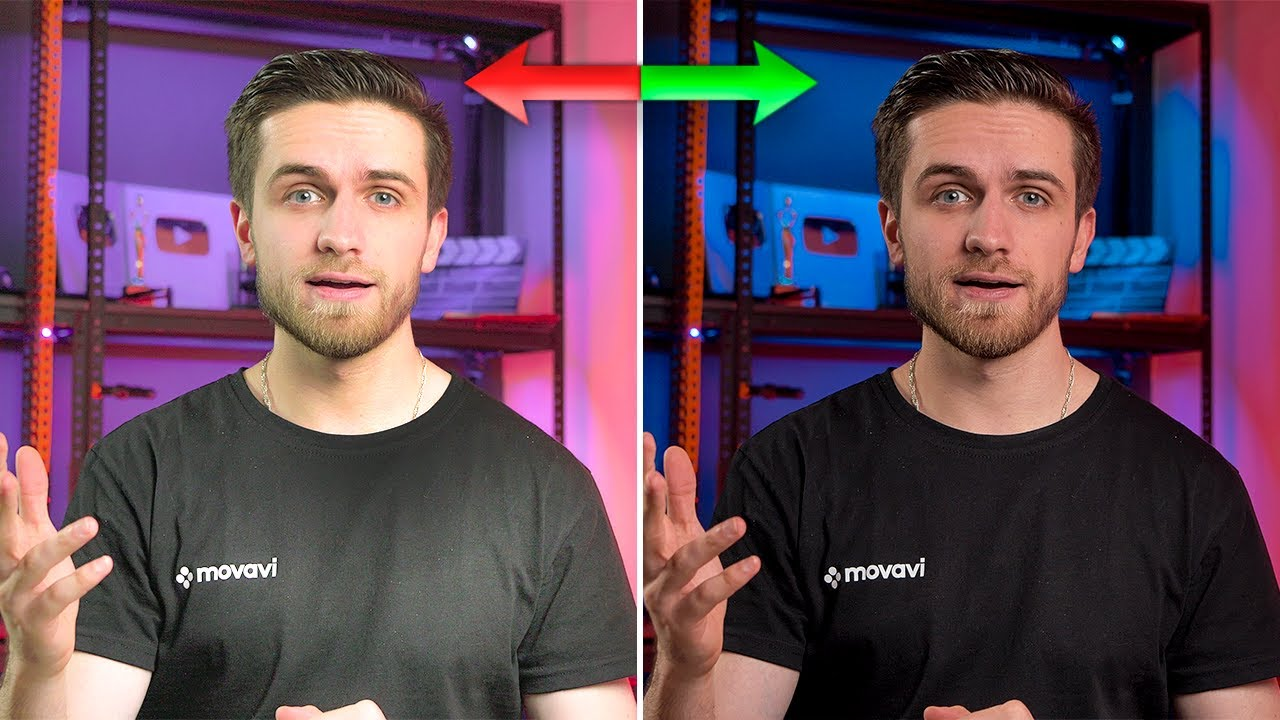 Как из плохих исходников получить КАЧЕСТВЕННОЕ видео? Монтаж в Movavi Video Editor 2021