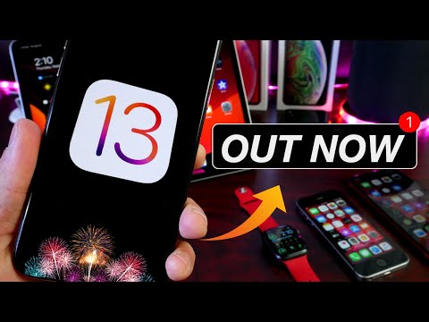iOS 13 & WatchOS 6 - OUT NOW For EVERYONE!