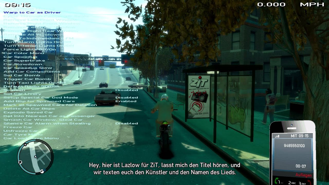 Gta Iv How To Get A Secret Number Zit Youtube
