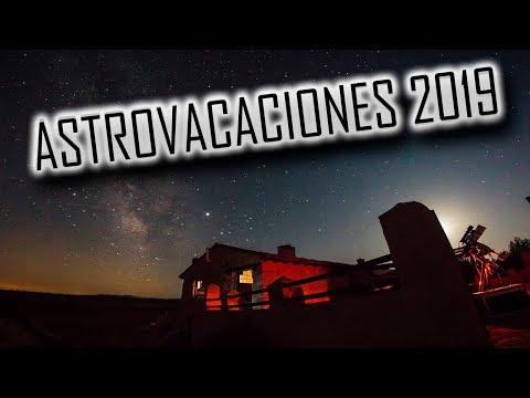 Astrovacaciones 2019. Masada Andabe. Entre estrellas y dinosaurios.
