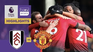 Fulham 0-3 Manchester United Match Highlights