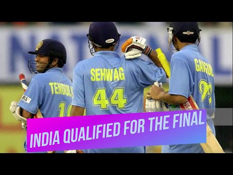 India Beat New Zealand And Qualified For The Final | TVS CUP 2003 Highlights