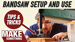 Bandsaw Tips and Tricks for Woodworkers