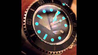 rolex deepsea 116660 super luminova