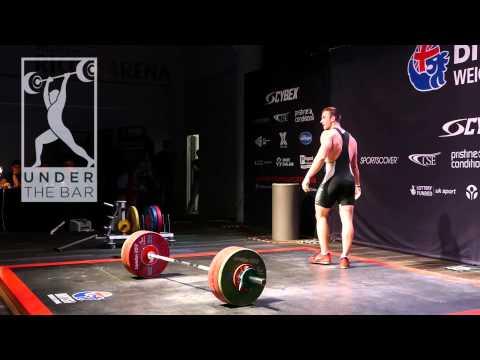 Sean Brown 285kg total @ British champs 2015