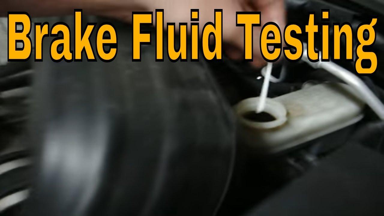 Brake fluid testing - Brake fluid change - How to test brake fluid and when.