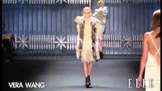Vera Wang FW 2011-12 Fashion week in New York.