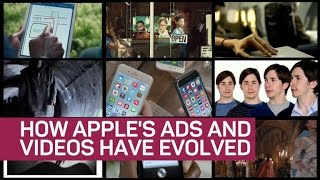 The evolution of Apple ads and videos
