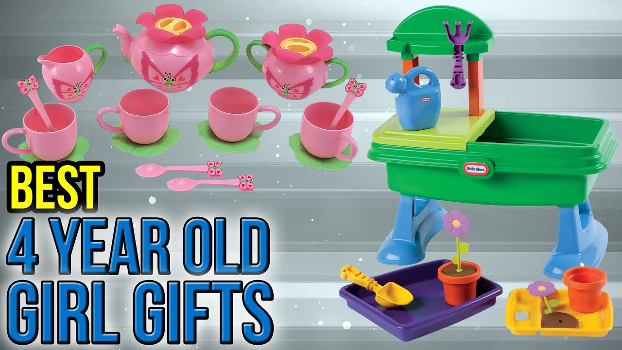 10 Best 4 Year Old Girl Gifts 2017