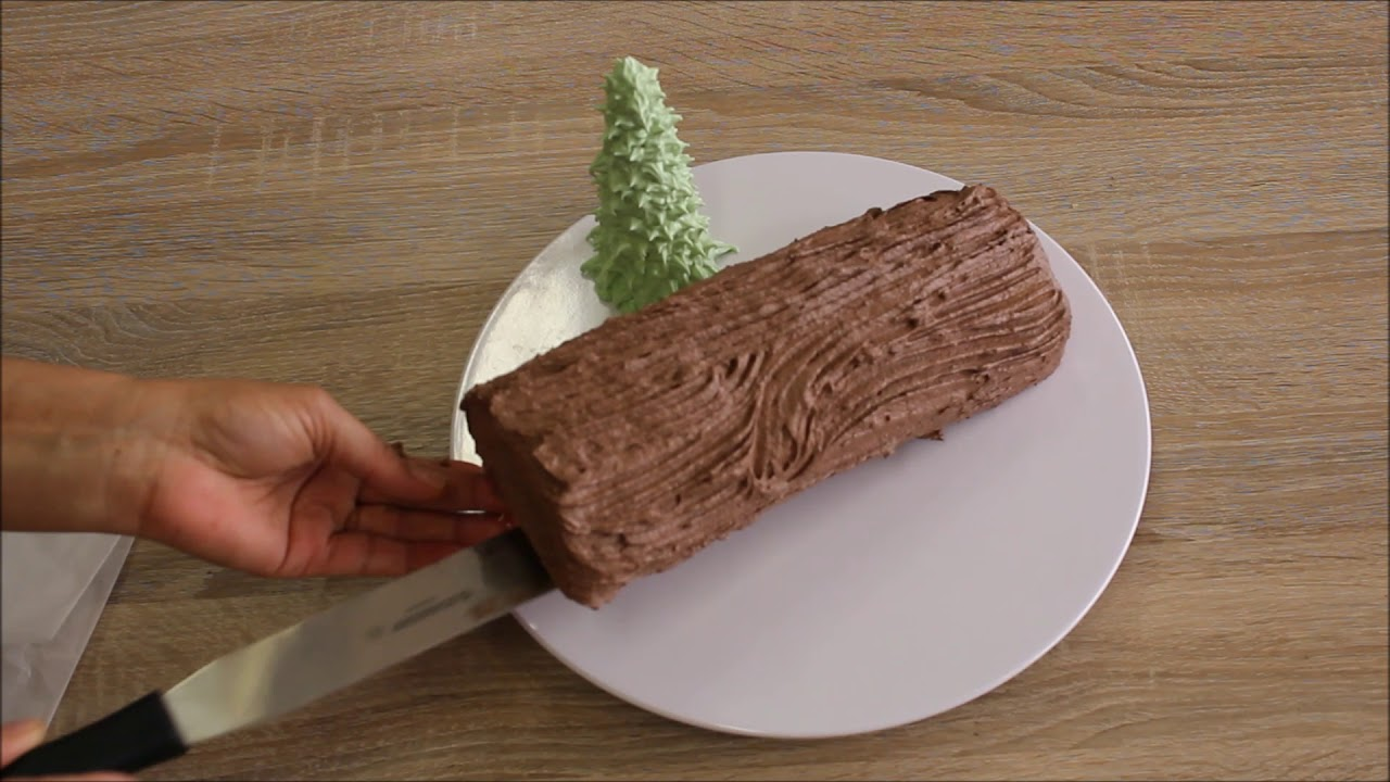 Tronco Di Natale Youtube.Tronchetto Natalizio Senza Glutine